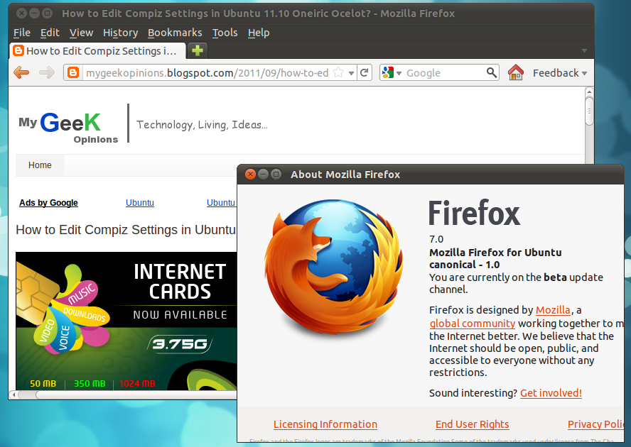 how to close firefox in ubuntu