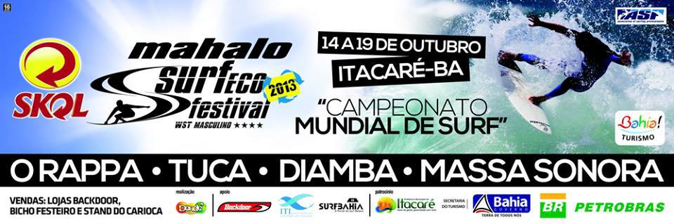 Mahalo Surf Eco Festival Itacaré
