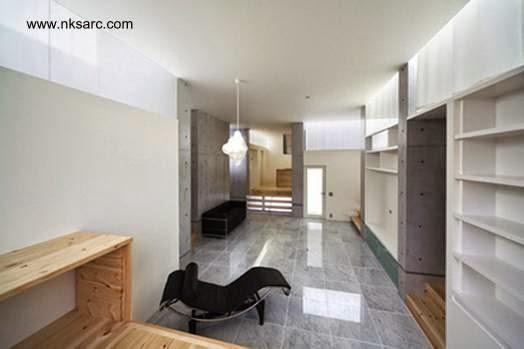 Vista de un ambiente en el interior de la casa