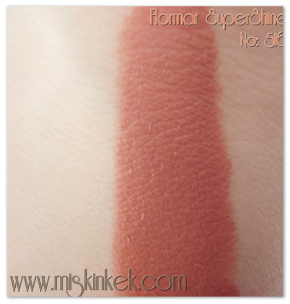 flormar,swatch,ruj,lipstick
