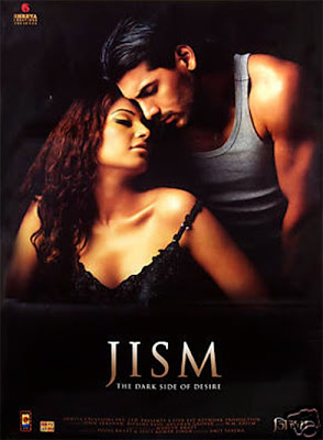 Poster Of Bollywood Movie Jism (2003) 300MB Compressed Small Size Pc Movie Free Download World4ufree.Org