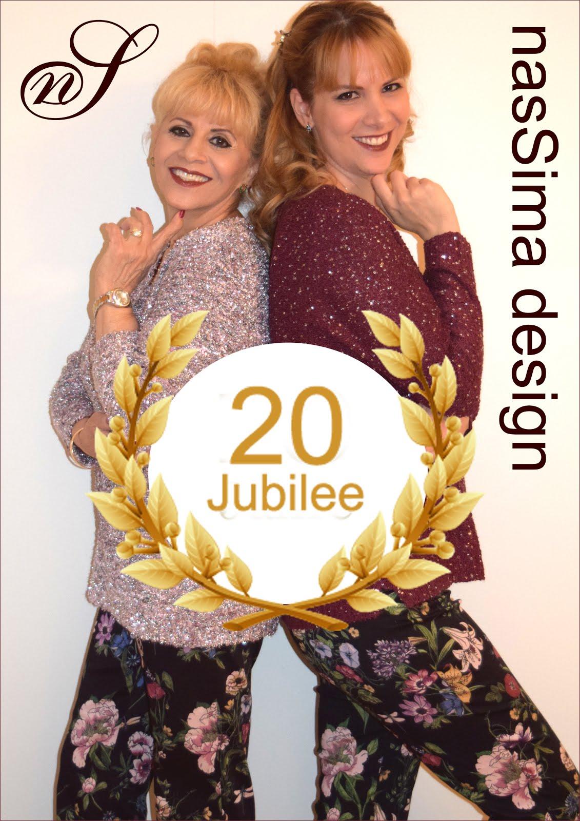 nasSima design 20 Jubilee