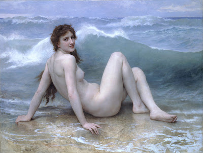 William Bouguereau - La vague, 1896.