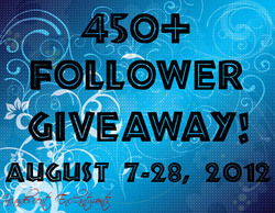450+ Follower Giveaway!(INTERNATIONAL)