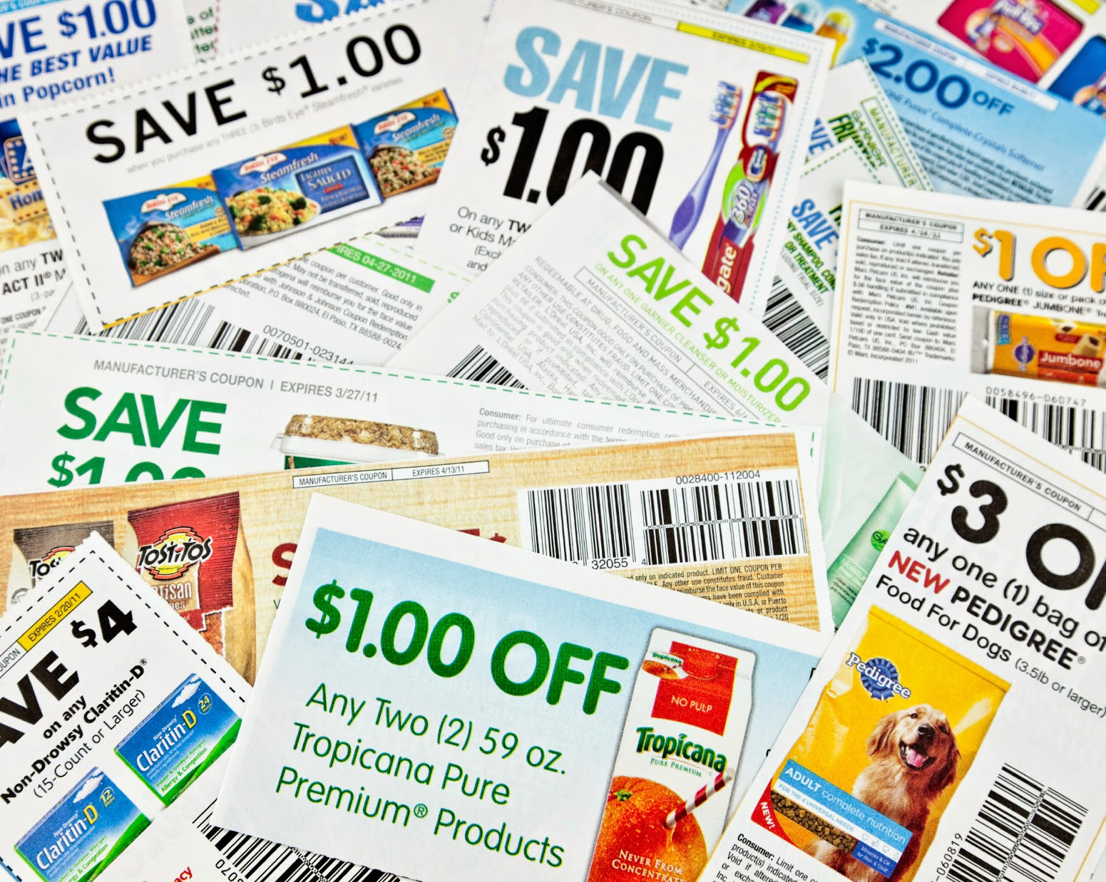 Free discounts and coupons