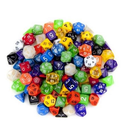 http://www.amazon.com/Random-Polyhedral-Dice-Multiple-Wiz/dp/B009R6J8RY/ref=sr_1_2?s=toys-and-games&ie=UTF8&qid=1429924894&sr=1-2&keywords=dice