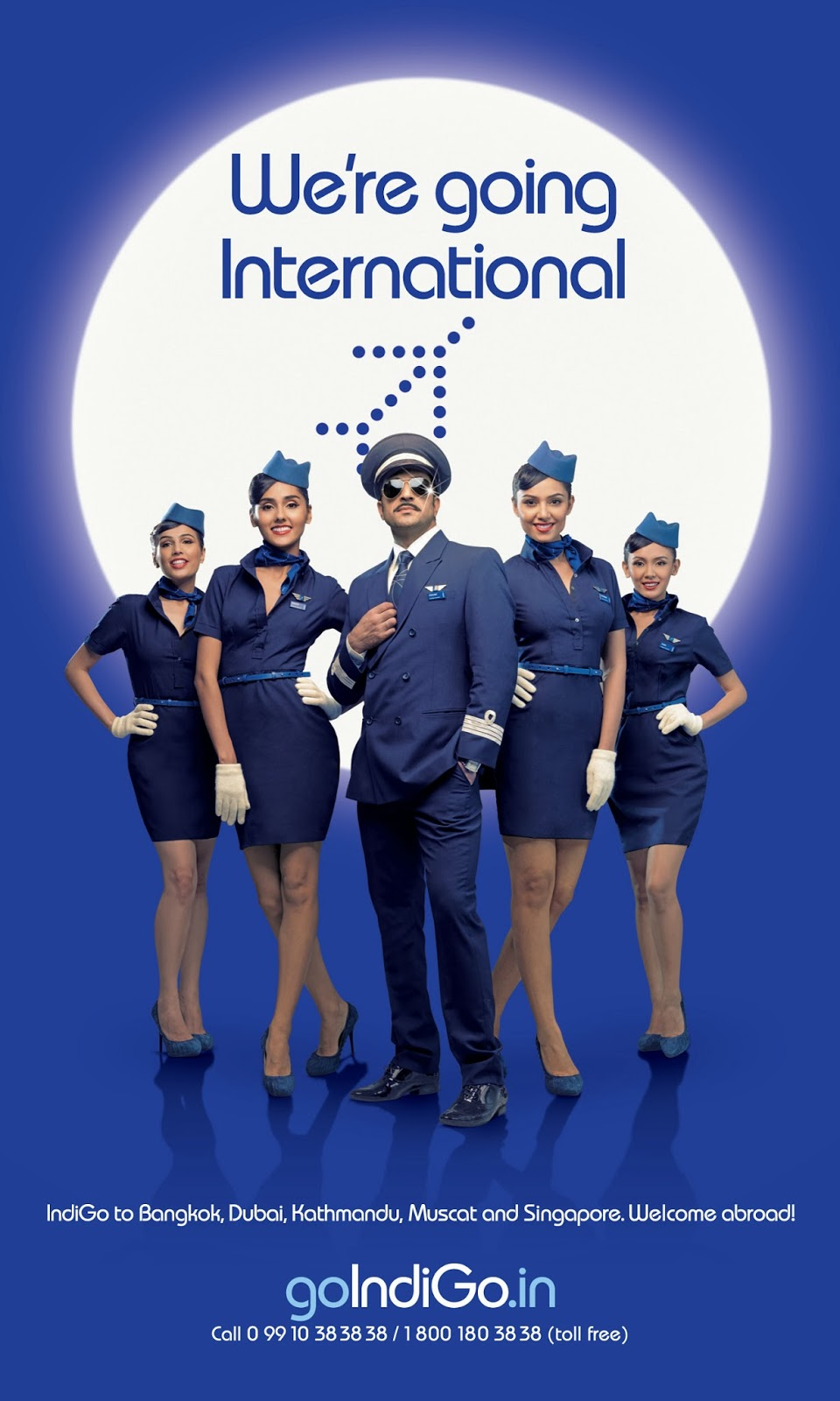 Why indigo changed the uniform of their airhostesses for The indigo