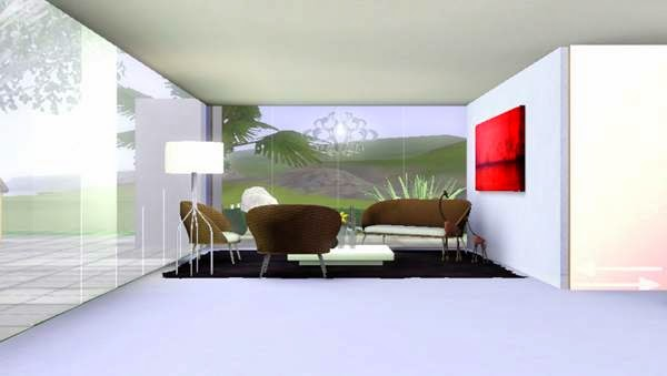 Koalafolio sims3 House : [LIVING DESIGN] THE BOX TYPEB MODERN HOUSE