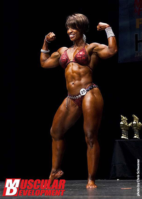 Ceyonne Jones Female Muscle Bodybuilding Blog Muscular Development
