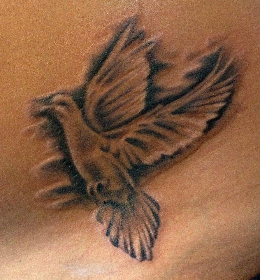 tatto: Beautiful Dove Tattoos