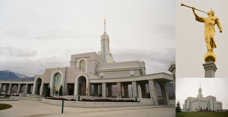 Mount Timpanogos Utah Temple, March 10, 1999