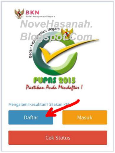 Cara Registrasi PUPNS 2015 di BKN Secara Online