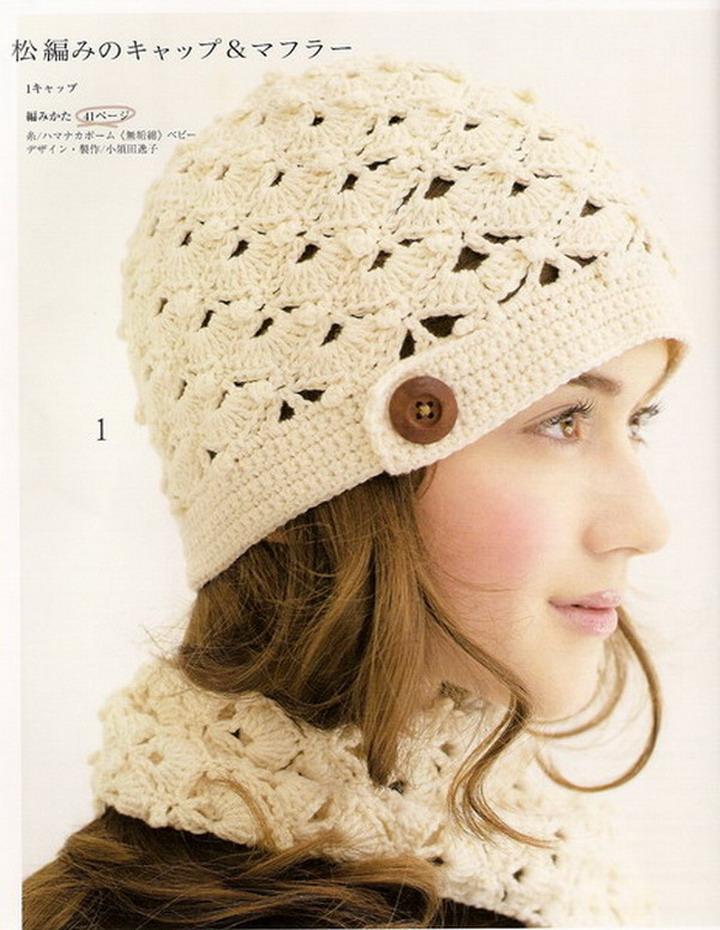 Amigurumi piccolo tutti frutti: Patron crochet gorro y bufanda