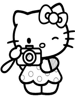 japanese hello kitty coloring pages - photo#32