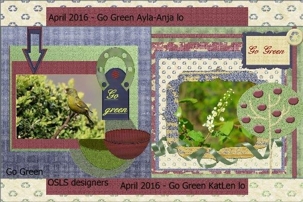 April 2016 - Go Green Anja-KatLen lo