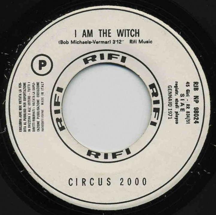 45 giri a porta portese circus 2000 i am the witch for Porta 45 giri