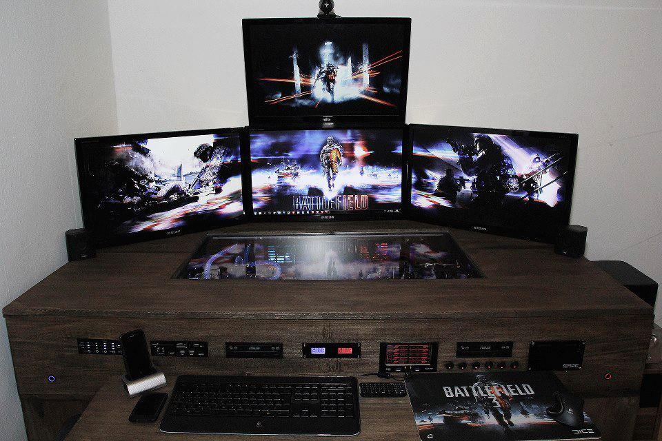 Pc生活 パソコン製作>desk型パソコンケースの写真を集めてみた