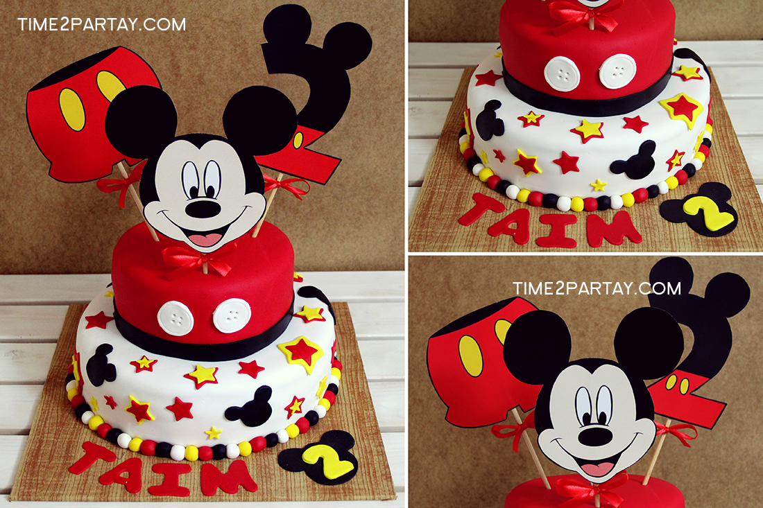 Mickey Mouse Themed Items Time2partay