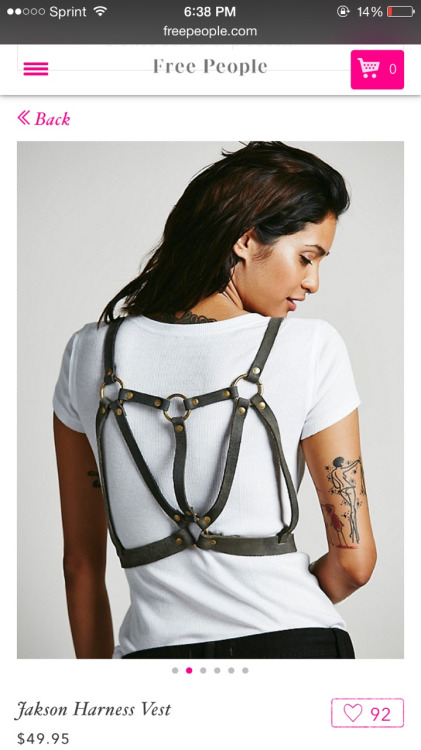 free people harness