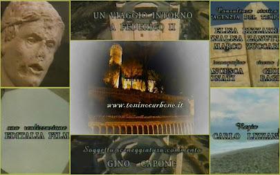 """"""" un viaggio intorno a federico II """"  documentario storico commentato da Gino Capone"""