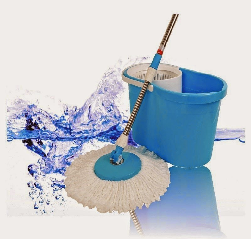 Kawachi Super Cleaning Spin And Dry Mop