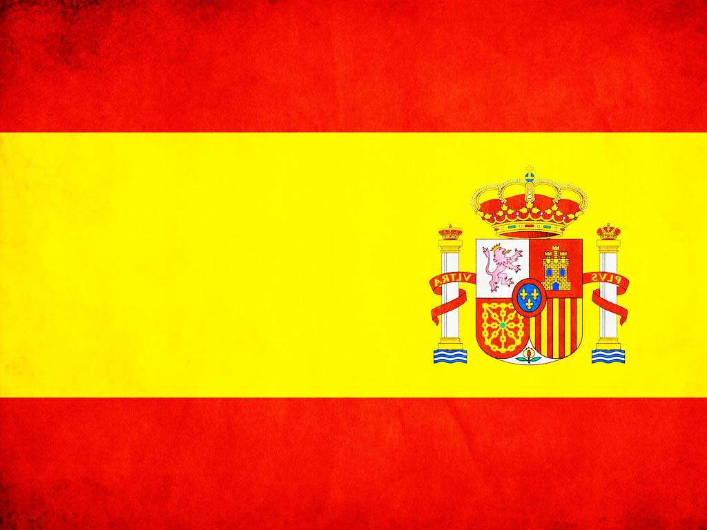 spain flag in powerpoint backgrounds ppt backgrounds