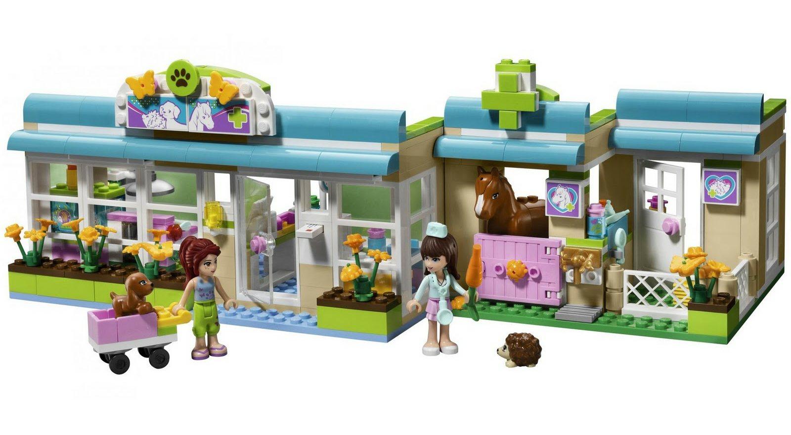 brick friends lego friends 3188 heartlake vet. Black Bedroom Furniture Sets. Home Design Ideas
