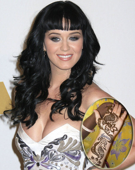Katy Perry Jesus Tattoo