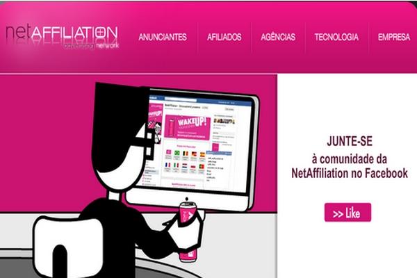 Imagem de programa de Afiliados netaffilation Cliques Diversos