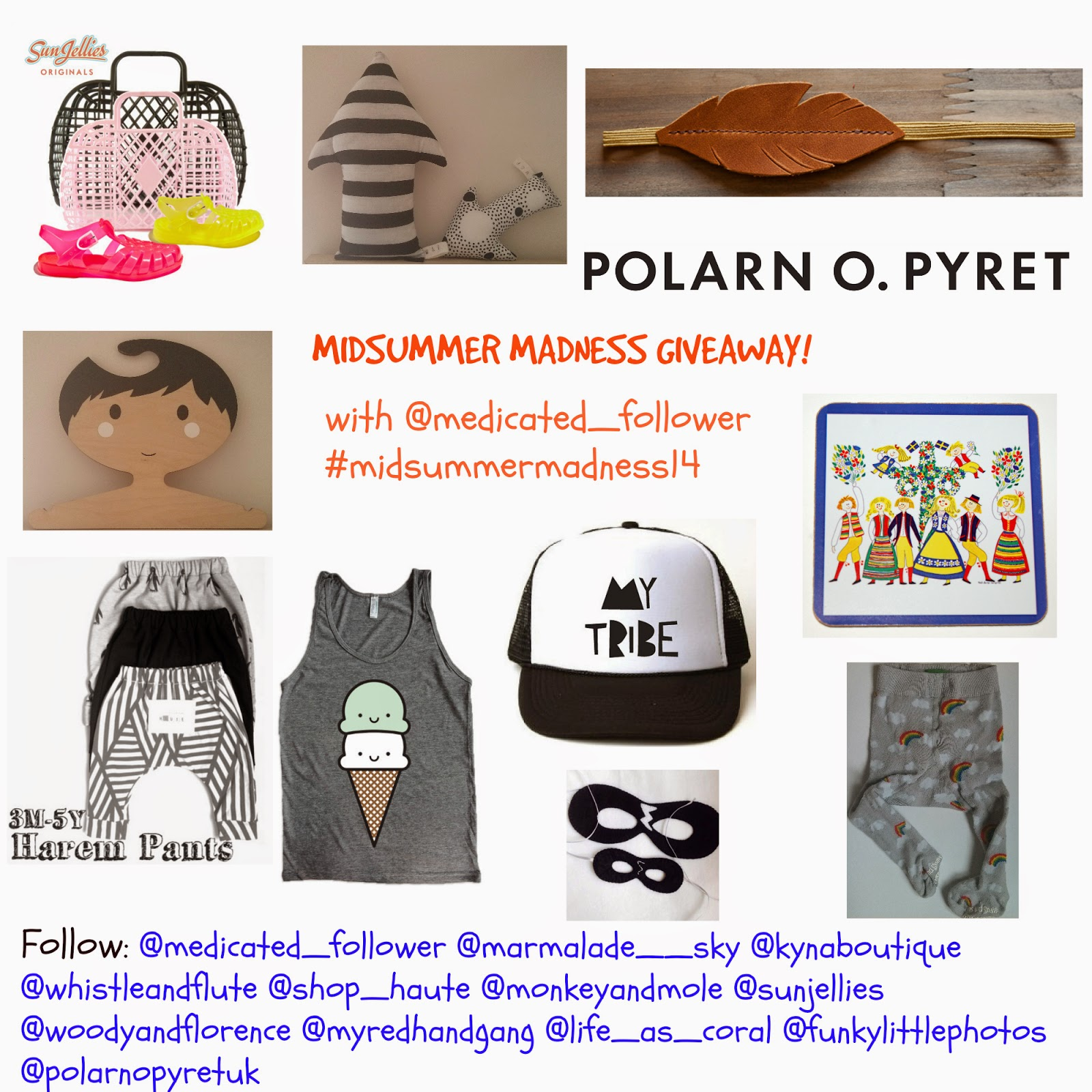 Midsummer Madness Instagram Giveaway with @Medicated_Follower