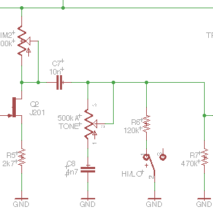 gain section JHS superbolt schematic