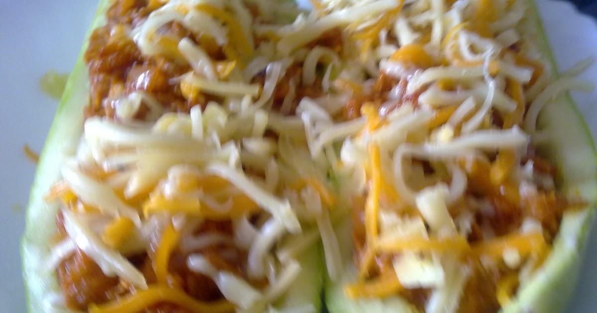 Cocinar es facil calabacin relleno for Cocinar berenjenas facil