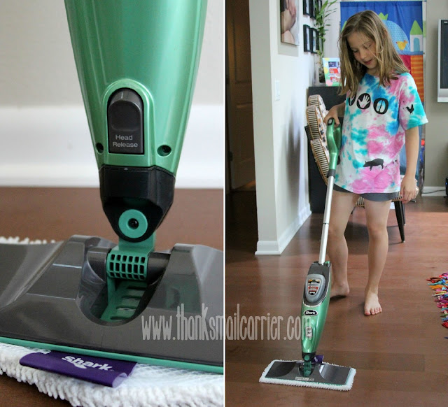 Shark cordless spray mop