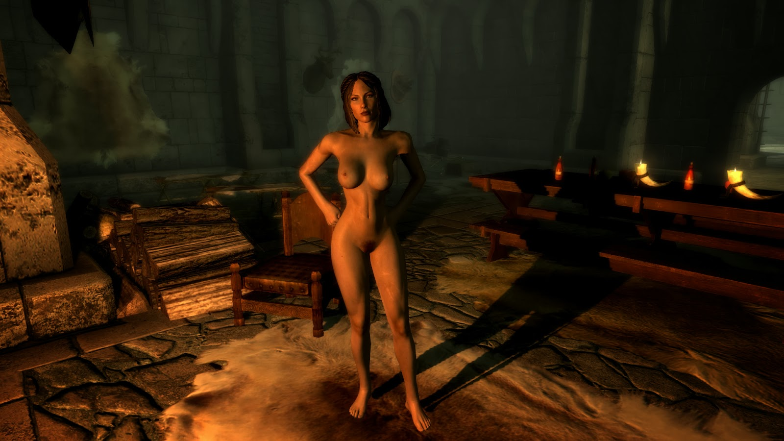 Skyrim naked girls smut vids