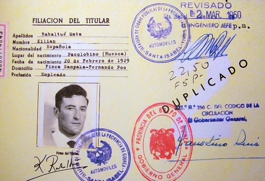 Roban documentos de la Colonia Española