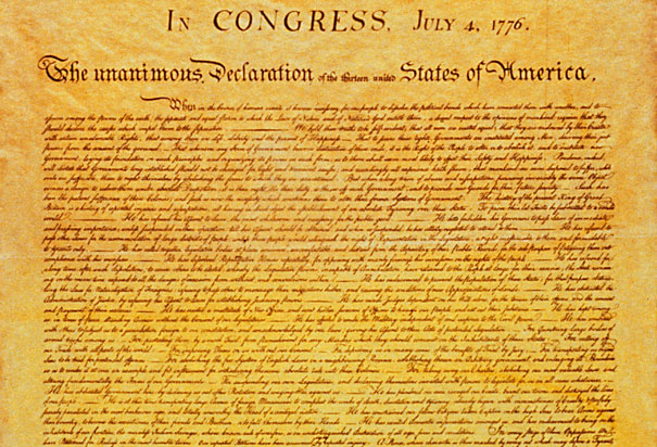 compare original draft to final version of declaration of independence Start studying american literature part 1 unit  how the original version of the declaration of  his original draft to produce the final draft.