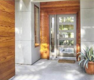 Fotos y dise os de puertas julio 2012 for Puertas de madera con vidrio para exterior