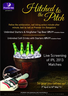 Live Screenings of IPL 2013 Matches