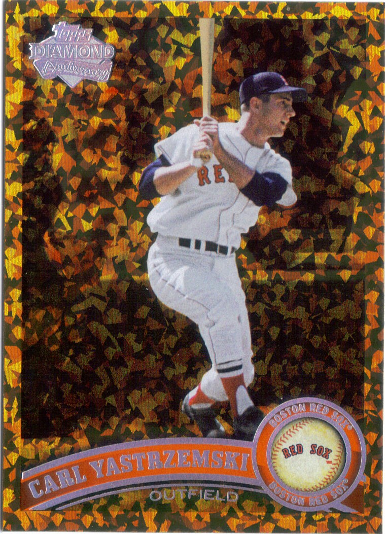 Thoughts on 2011 Topps Update Inserts  2011+Topps+Diamond+Cognac+Yastrzemski