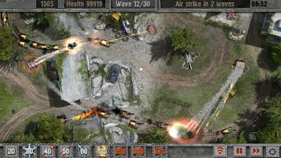 Defense zone 2 HD Game