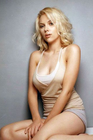 Scarlett Johansson Pictures, Photos & Wallpaper Platinum Cross Fox