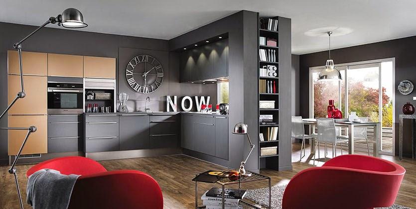 Conseils pour choisir les couleurs de peinture de cuisine for Choisir la couleur de sa cuisine