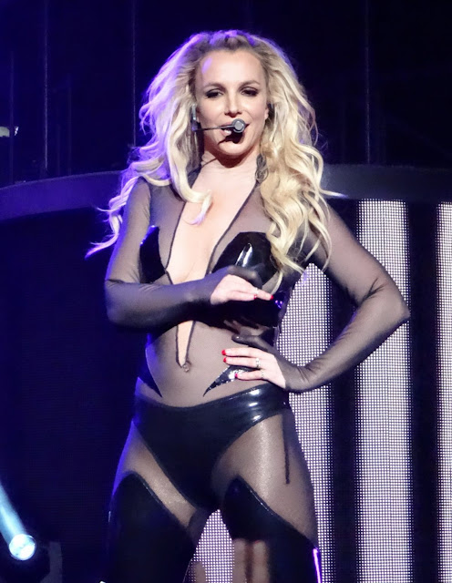 Actress, Singer, @ Britney Spears Performs In Las Vegas