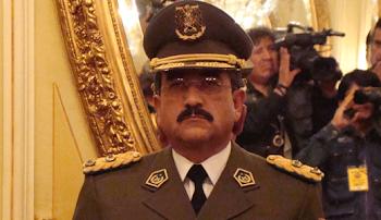 Jorge Santisteban nuevo Comandante de la Policía Boliviana