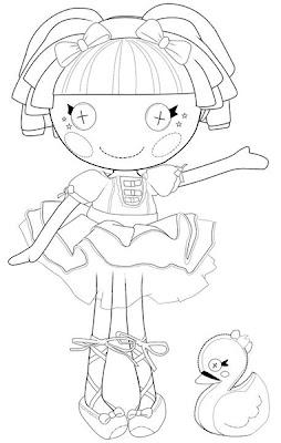 muñeca lalaloopsy con pato