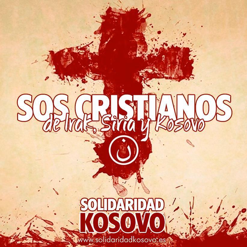 SOS crisitianos de Irak, Siria y Kosovo
