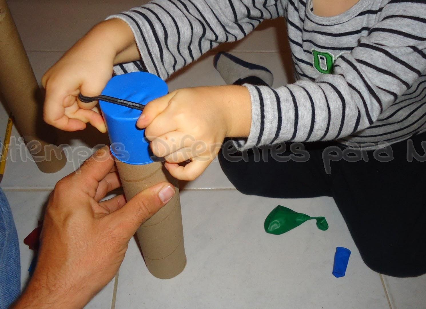 Portaretratos reciclable casero pasatiempos diferentes - Como fabricar un pluviometro ...