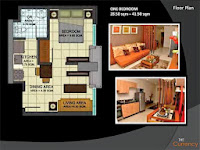 The Currency 1 Bedroom Floor Plans