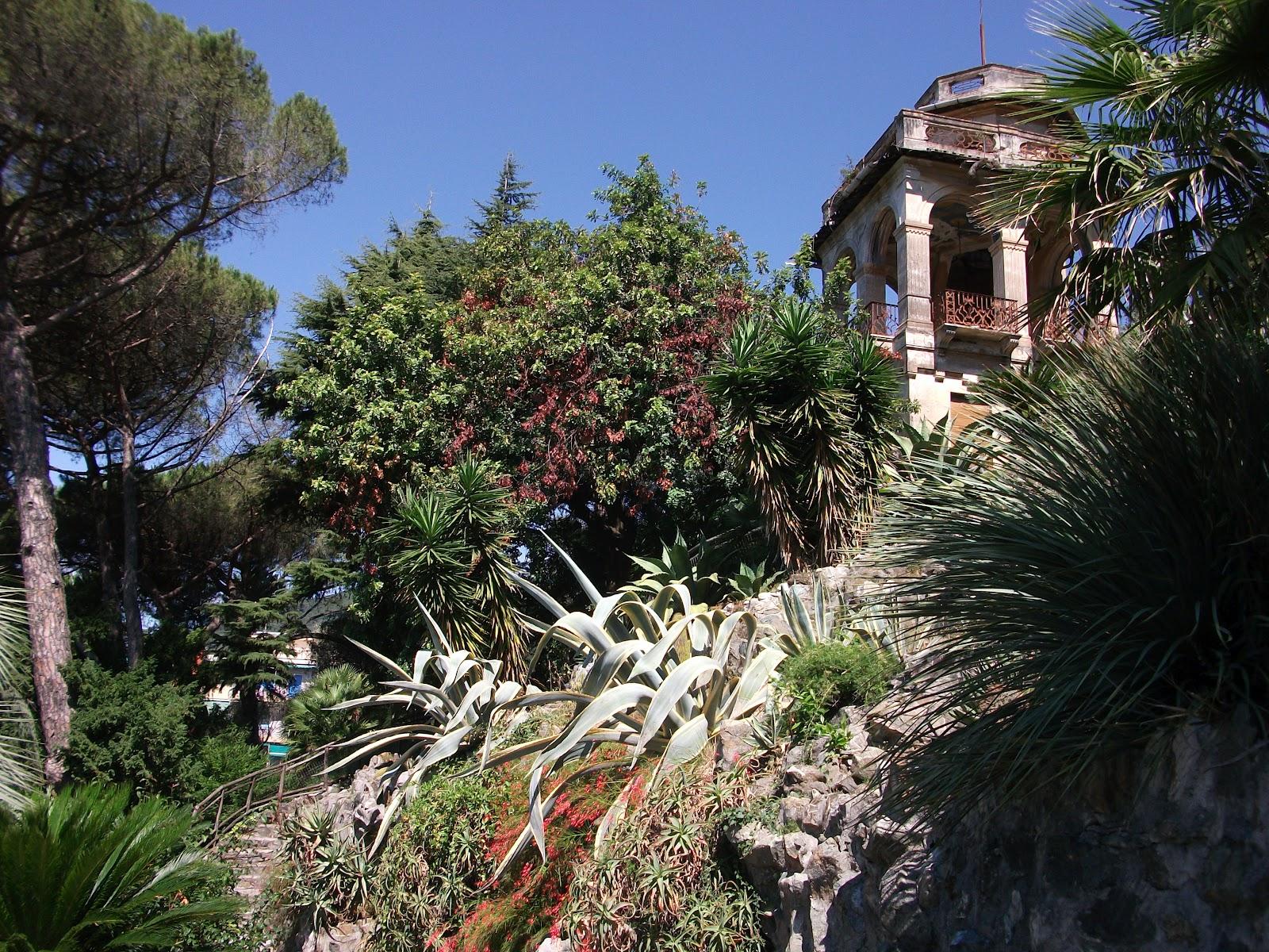 mirtillo14 camminando parco di villa rocca a chiavari. Black Bedroom Furniture Sets. Home Design Ideas