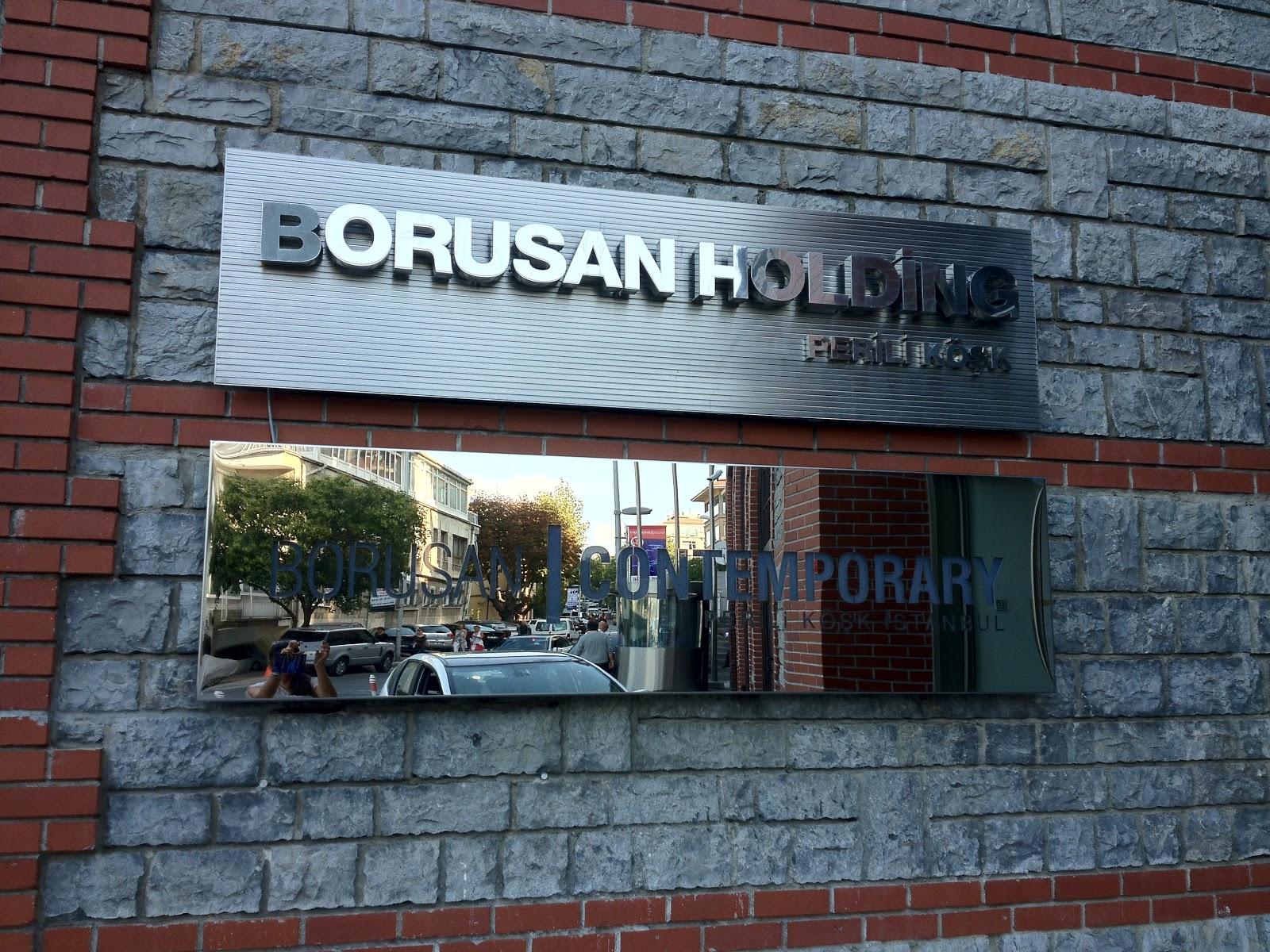 İpek in Kelebekleri: Borusan Contemporary: Art In the Office!
